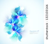 bright background with light... | Shutterstock .eps vector #132103166