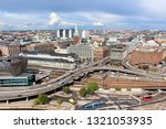 view of norrmalm area from city ... | Shutterstock . vector #1321053935