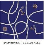 nautical rope design rope...   Shutterstock .eps vector #1321067168