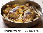 Roast Chicken Legs Cooked With...
