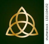 illustration of a golden... | Shutterstock .eps vector #1321104152