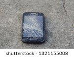 broken  destroyed  ruined... | Shutterstock . vector #1321155008