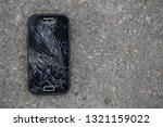 broken  destroyed  ruined... | Shutterstock . vector #1321159022