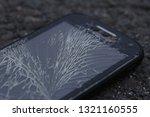 broken  destroyed  ruined... | Shutterstock . vector #1321160555