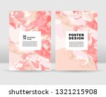 abstract poster background. it... | Shutterstock .eps vector #1321215908