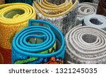 carpets variety selection... | Shutterstock . vector #1321245035