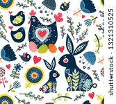 Cute Seamless Pattern For...