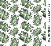 beautiful tropical print....   Shutterstock . vector #1321324478