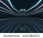 abstract modern architecture... | Shutterstock . vector #1321381415