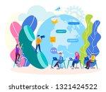 helpline concept  customer... | Shutterstock .eps vector #1321424522