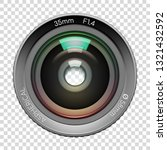 highly detailed video or photo... | Shutterstock .eps vector #1321432592