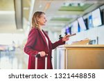 young woman in international...   Shutterstock . vector #1321448858