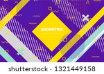 abstract vector background. neo ... | Shutterstock .eps vector #1321449158