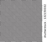 pattern with line black and... | Shutterstock .eps vector #132150332