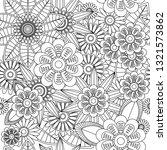 seamless fractal pattern of... | Shutterstock .eps vector #1321573862