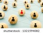 image of wooden blocks with... | Shutterstock . vector #1321594082