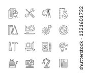 vector engineer outline icon... | Shutterstock .eps vector #1321601732