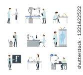 cartoon characters artificial... | Shutterstock .eps vector #1321622522