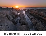 sunset at bidart's beach next... | Shutterstock . vector #1321626092