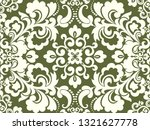 seamless green background with... | Shutterstock .eps vector #1321627778