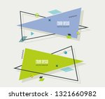 web panel design with abstract...