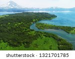 river and lake in the mountains.... | Shutterstock . vector #1321701785