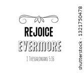 rejoice evermore. christian...   Shutterstock .eps vector #1321750478
