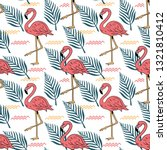 summer seamless pattern with...   Shutterstock .eps vector #1321810412