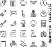 thin line icon set   border... | Shutterstock .eps vector #1321837352