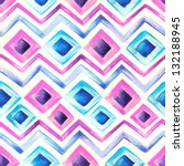 Watercolor Stripes Template...
