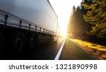 truck on the road | Shutterstock . vector #1321890998