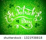elegant design caligraphic... | Shutterstock .eps vector #1321938818