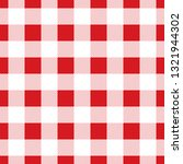 seamless large red check... | Shutterstock .eps vector #1321944302