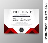 certificate premium template... | Shutterstock .eps vector #1321950068