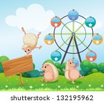 illustration of the three... | Shutterstock .eps vector #132195962