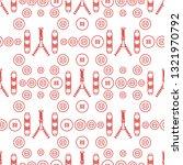 seamless pattern with zipper ...   Shutterstock .eps vector #1321970792
