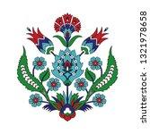 turkish arabic pattern vector... | Shutterstock .eps vector #1321978658