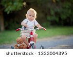 cute toddler child  boy ... | Shutterstock . vector #1322004395