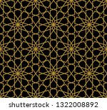 seamless pattern in authentic... | Shutterstock .eps vector #1322008892