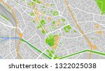design vector map city | Shutterstock .eps vector #1322025038