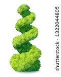 fresh green ornamental bush...   Shutterstock .eps vector #1322044805