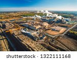 Aerial Image Of Pulp Mill ...