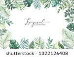 watercolor illustration. summer ...   Shutterstock . vector #1322126408