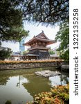 2015 june  shitennoji temple in ... | Shutterstock . vector #1322135258
