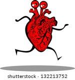 vector cartoon illustration of... | Shutterstock .eps vector #132213752