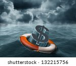 Illustration Of A Dollar Symbo...