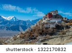 thiksey monastery  thiksey... | Shutterstock . vector #1322170832