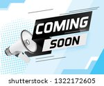 coming soon word concept vector ...