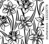 Seamless Pattern With Narcissu...