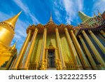 temple of emerald buddha with...   Shutterstock . vector #1322222555